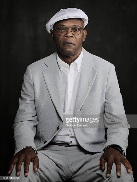 Samuel L Jackson poses at a portrait session during day three of the 13th annual Dubai International Film Festival held at the Madinat Jumeriah...