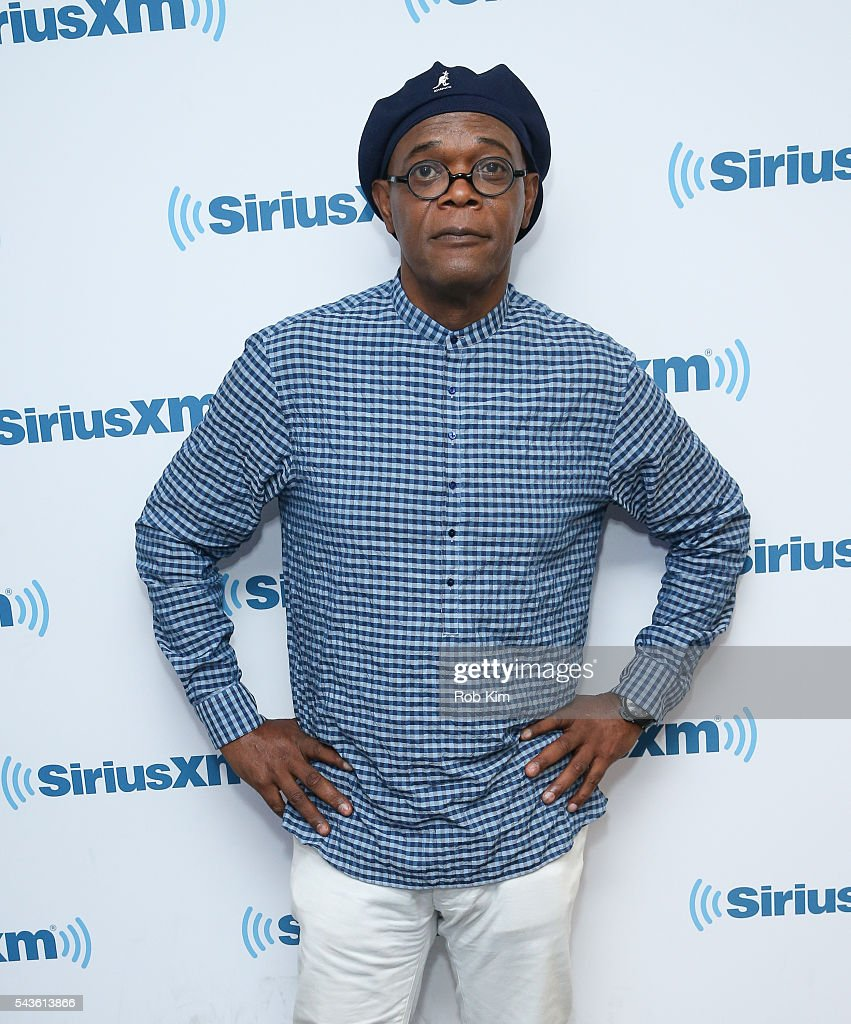 <a gi-track='captionPersonalityLinkClicked' href=/galleries/search?phrase=Samuel+L.+Jackson&family=editorial&specificpeople=167234 ng-click='$event.stopPropagation()'>Samuel L. Jackson</a> visits at SiriusXM Studio on June 29, 2016 in New York City.