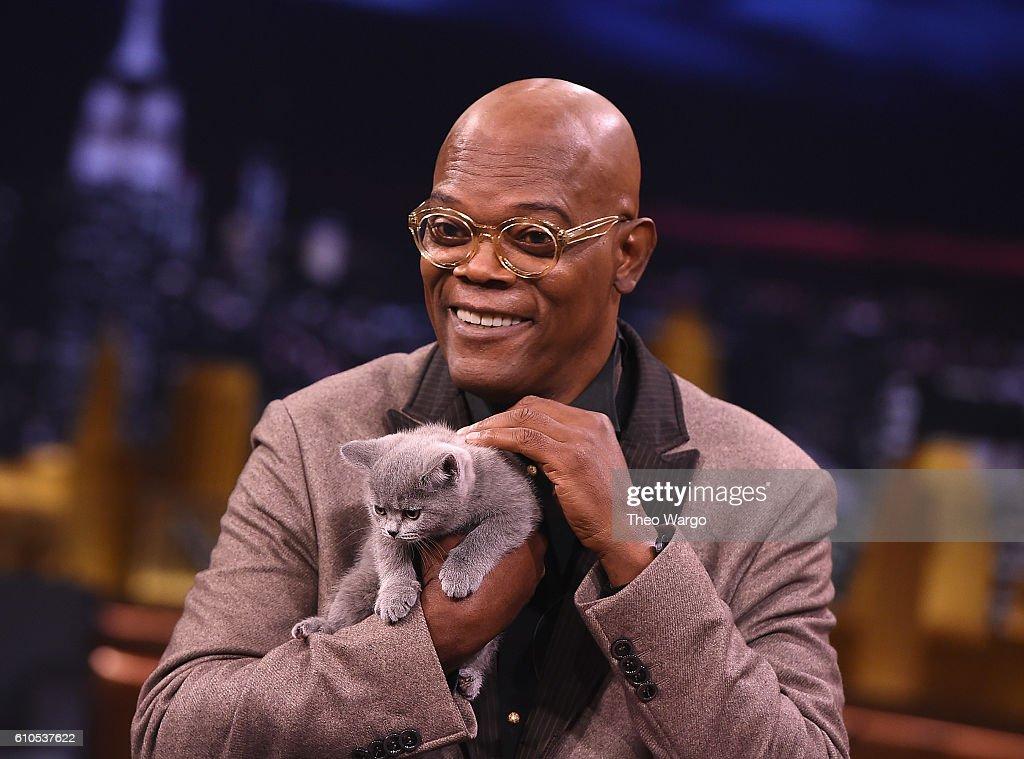 "Samuel L. Jackson Visits ""The Tonight Show Starring Jimmy Fallon"""