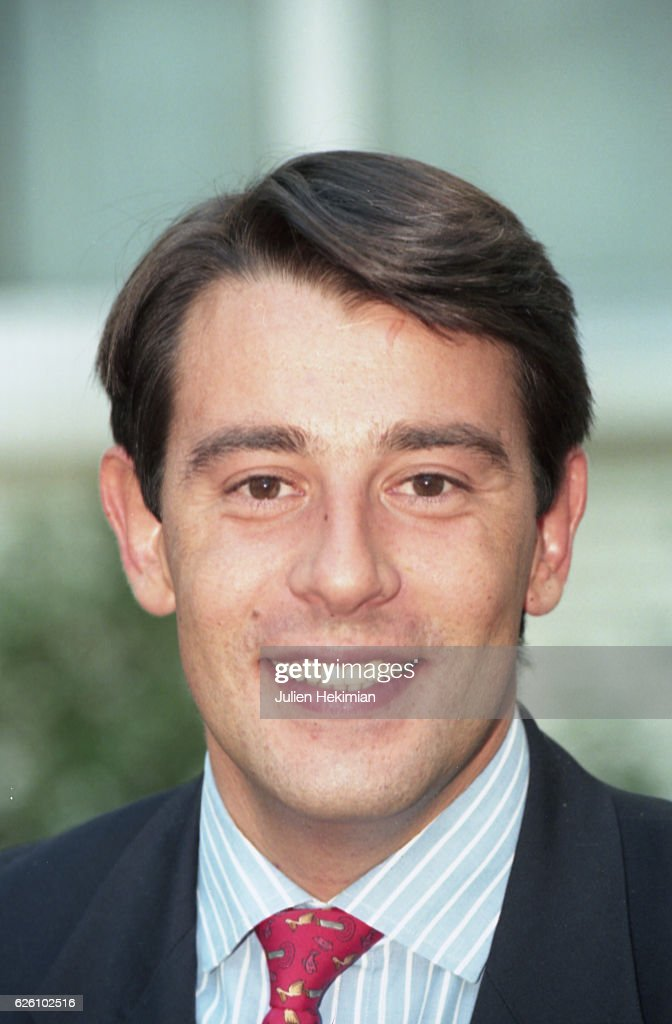 Samuel Marechal, son in law of Jean-Marie Le Pen, Paris, France, 12th September 1997.