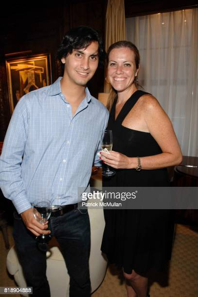 Samuel Orgega and Kiki Nolan attend POPE ANNALISA Book Release Party With Author PETER CANOVA at Private Residence on May 25 2010 in New York City