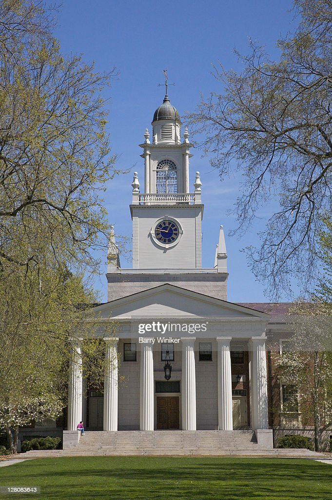 Samuel Phillips Hall, Phillips Academy Andover, Andover, Massachusetts, USA