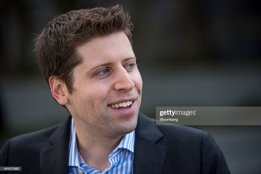 Samuel 'Sam' Altman, president of Y Combinator Inc., speaks during a Bloomberg West television interview at the Vanity Fair 2015 New Establishment Summit in San Francisco, California, U.S., on Tuesday, Oct. 6, 2015. The summit assembles titans of technology, politics, business, and media for inventive programming and inspiring conversations around the ideas and innovations shaping the future. Photographer: David Paul Morris/Bloomberg via Getty Images