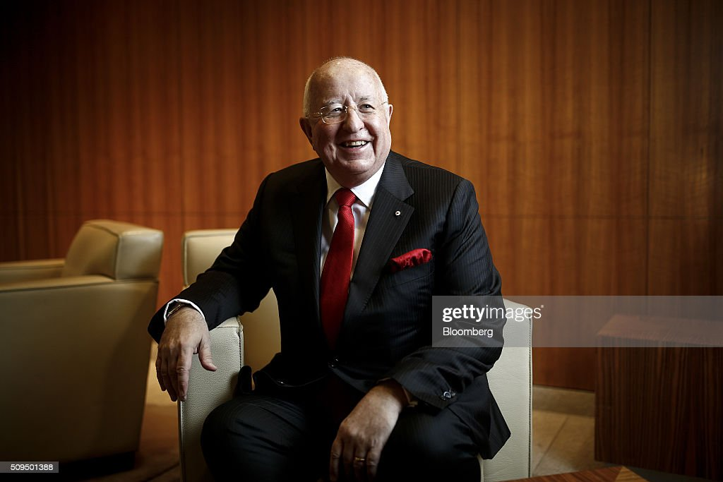 Samuel 'Sam' Walsh, chief executive officer of Rio Tinto Group, poses for a photograph during a photocall ahead of the company's full-year results announcement at The London Stock Exchange in London, U.K., on Thursday, Feb. 11, 2016. Rio Tinto, the world's second-biggest mining company, scrapped its progressive dividend policy and set out new spending cuts as plunging commodity prices slashed full-year profit 51 percent. Photographer: Simon Dawson/Bloomberg via Getty Images