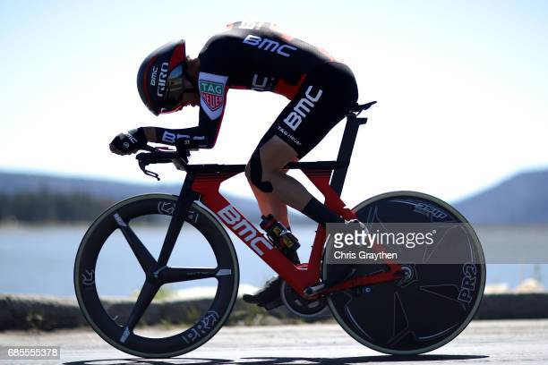 Samuel Sanchez of Spain riding for BMC Racing Team during stage five of the AMGEN Tour of California from Ontario to Mt Baldy on May 18 2017 in...