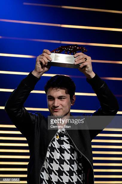 Samuel Schneider attends Leonardo at the New Faces Award Film 2014 at eWerk on May 8 2014 in Berlin Germany