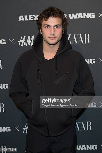 Samuel Schneider attends the Alexander Wang X HM collection preshopping event at Platoon Kunsthalle on November 5 2014 in Berlin Germany
