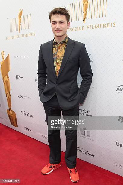 Samuel Schneider attends the Lola German Film Award 2014 at Tempodrom on May 9 2014 in Berlin Germany