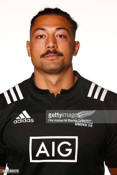 Samuel Slade poses during the New Zealand U20 Headshots Session at Novotel Auckland Airport on April 22 2017 in Auckland New Zealand