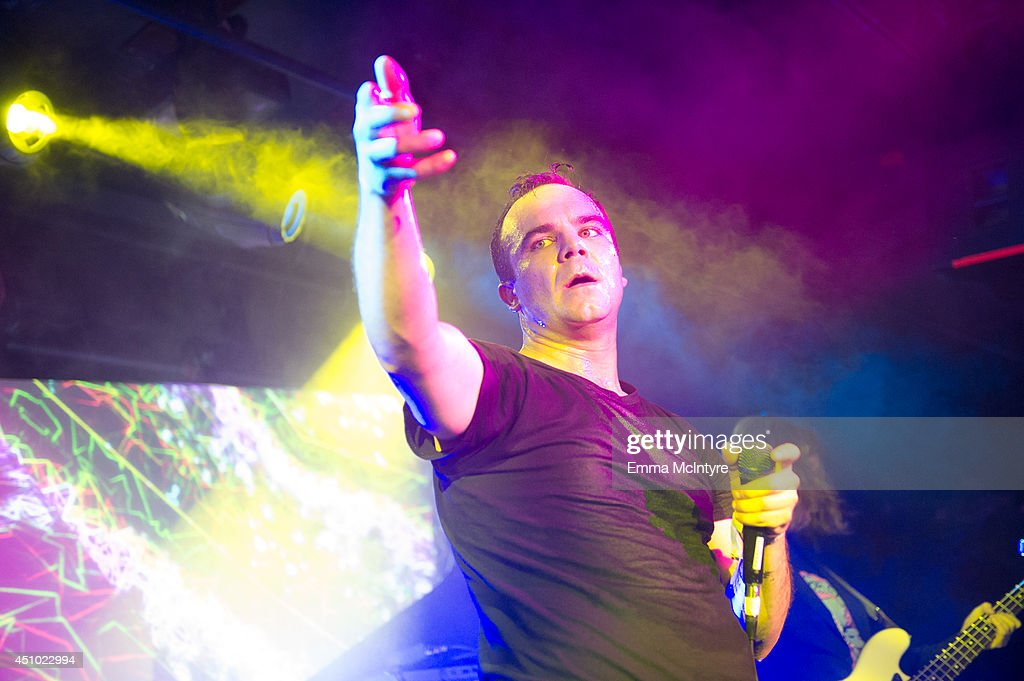 Samuel T. Herring of Future Islands performs at the 2014 NXNE music festival at Tattoo on June 21, 2014 in Toronto, Canada.