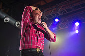 Future Islands Perform in Concert in Barcelona
