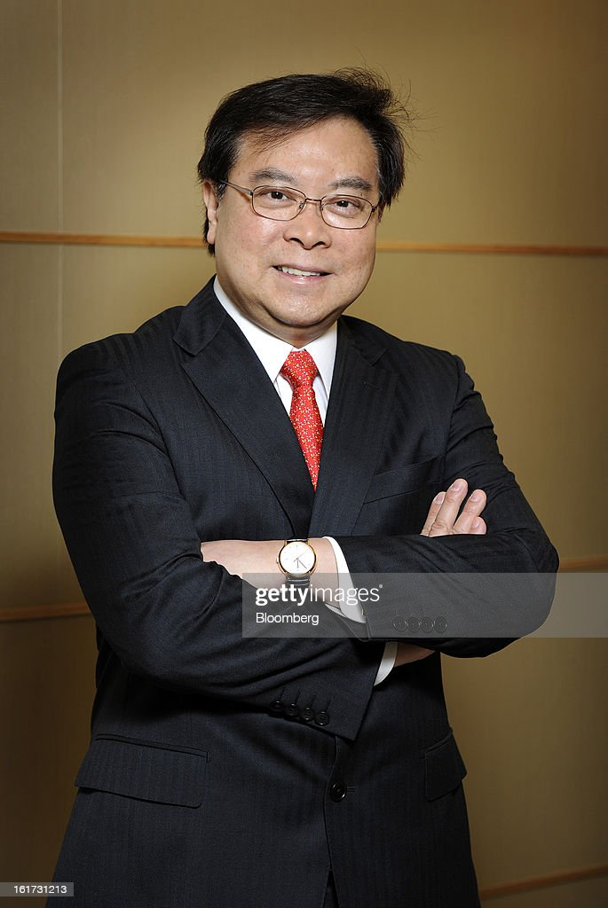 Samuel Tsien, chief executive officer of Oversea-Chinese Banking Corp. (OCBC), poses for a portrait following a news conference in Singapore, on Friday, Feb. 15, 2013. OCBC, Southeast Asia's second-largest lender, posted a 12 percent gain in fourth-quarter profit as higher income from wealth management and insurance offset narrowed lending margin. Photographer: Munshi Ahmed/Bloomberg via Getty Images