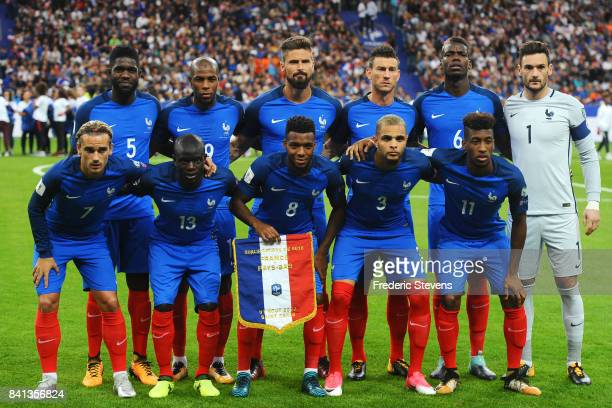 Samuel Umtiti defender Djibril Sidibe defender Olivier Giroud forward Laurent Koscielny defender Paul Pogba midfielder Hugo Lloris goalkeeper Antoine...
