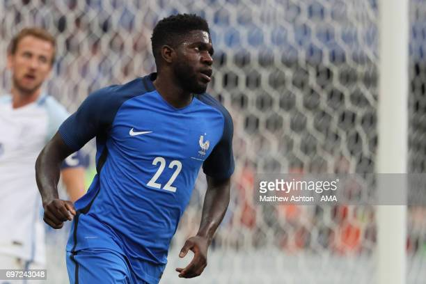 Samuel Umtiti of France during the International Friendly between France and England on June 13 2017 in Paris France