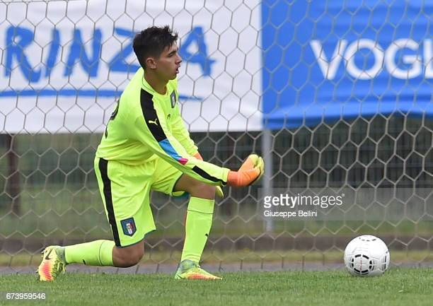 Samuel Vitale of Italy U15 in action during the Torneo delle Nazioni match between Italy U15 and UAE U15 on April 27 2017 in Gradisca d'Isonzo Italy