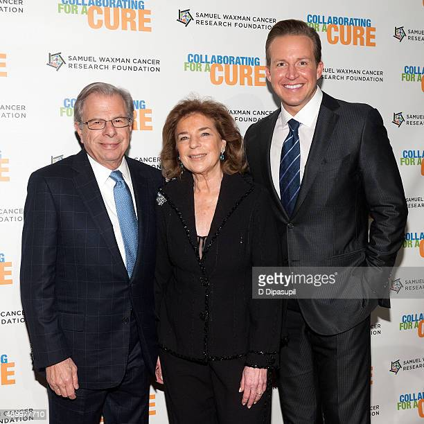 Samuel Waxman Cancer Research Foundation founder and CEO Samuel Waxman wife Marion Waxman and Chris Wragge attend the 17th Annual Samuel Waxman...