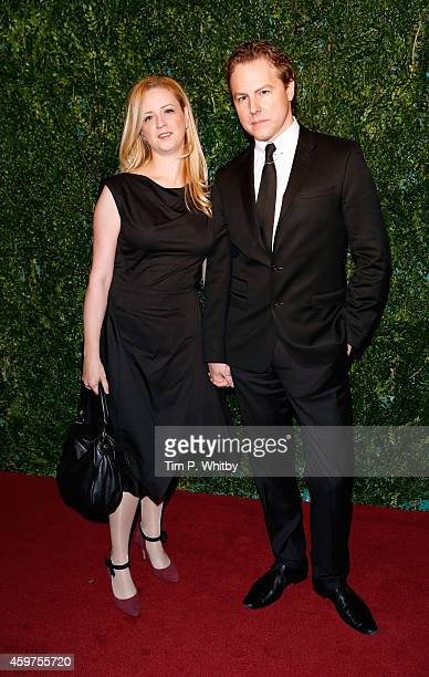 Samuel West attends the 60th London Evening Standard Theatre Awards at London Palladium on November 30 2014 in London England