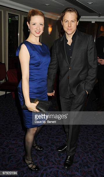 Samuel West attends The Laurence Olivier Awards at the Grosvenor House Hotel on March 21 2010 in London England