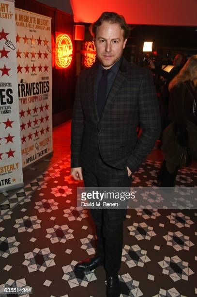 Samuel West attends the press night after party for 'Travesties' at 100 Wardour St on February 15 2017 in London England