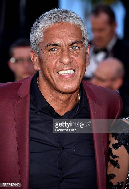 Samy Naceri attends the 'Graduation ' Premiere during the 69th annual Cannes Film Festival at the Palais des Festivals on May 19 2016 in Cannes France