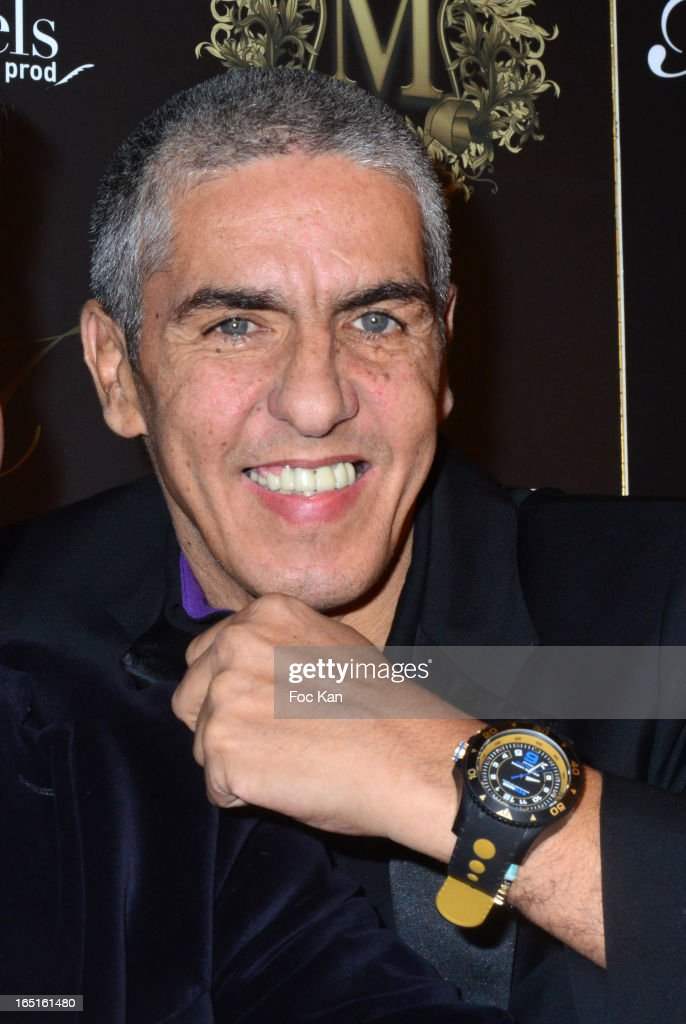 Samy Naceri attends the 'OmarJeans' Launch Party At The Pavillon Champs Elysees on March 31, 2013 in Paris, France.