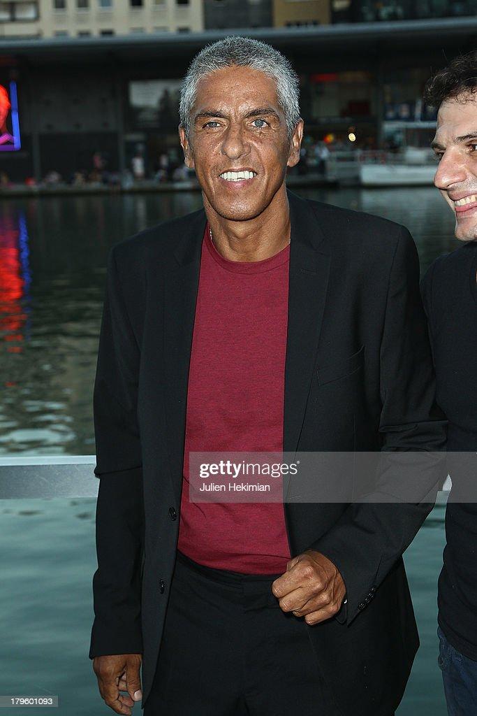 Samy Naceri attends 'Tip Top' Paris Premiere at Mk2 Quai de Seine on September 5, 2013 in Paris, France.