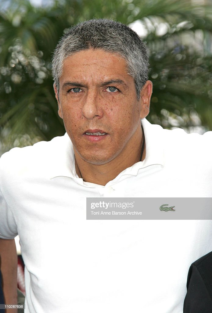 Samy Naceri during 2006 Cannes Film Festival - 'Indigenes' - Photocall at Palais des Festival in Cannes, France.