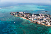 San Andrés island, province of Colombia located at the Caribbean Sea.