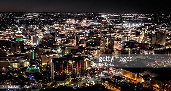 San Antonio at Night