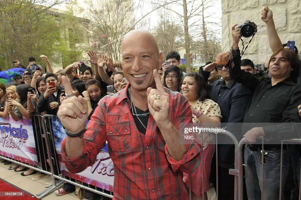 TALENT -- San Antonio Auditions -- Pictured: Howie Mandel --