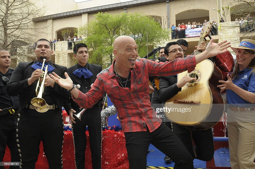 TALENT -- San Antonio Auditions -- Pictured: <a gi-track='captionPersonalityLinkClicked' href=/galleries/search?phrase=Howie+Mandel&family=editorial&specificpeople=595760 ng-click='$event.stopPropagation()'>Howie Mandel</a> --