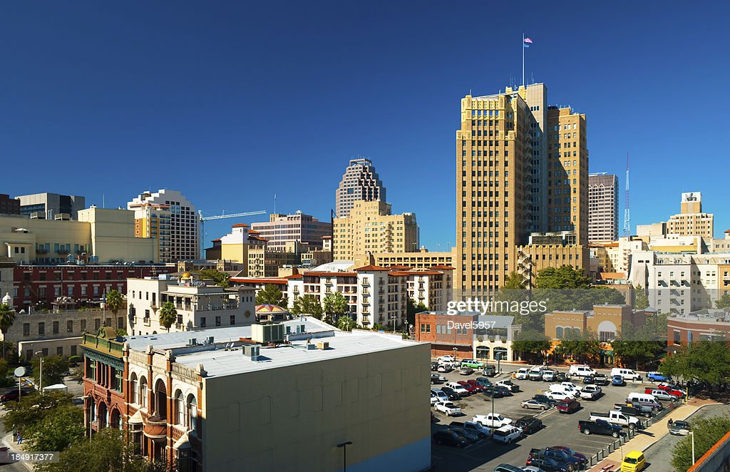 San Antonio Downtown View