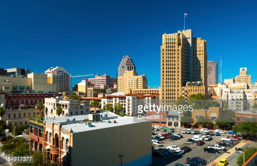 San Antonio Downtown View