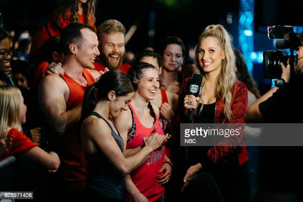 WARRIOR 'San Antonio Finals' Pictured Kacy Catanzaro Barclay Stockett Kristine Leahy