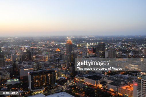 San Antonio from the top