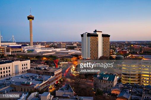 San Antonio skyline Aerial