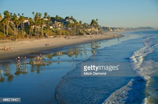 San Clemente beach : Stock Photo
