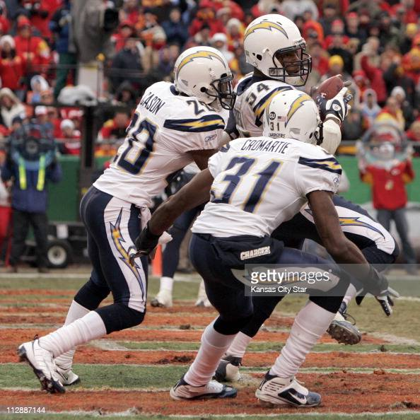 San Diego Chargers Cornerbacks: Stephen Cooper American Football Player Stock Photos And