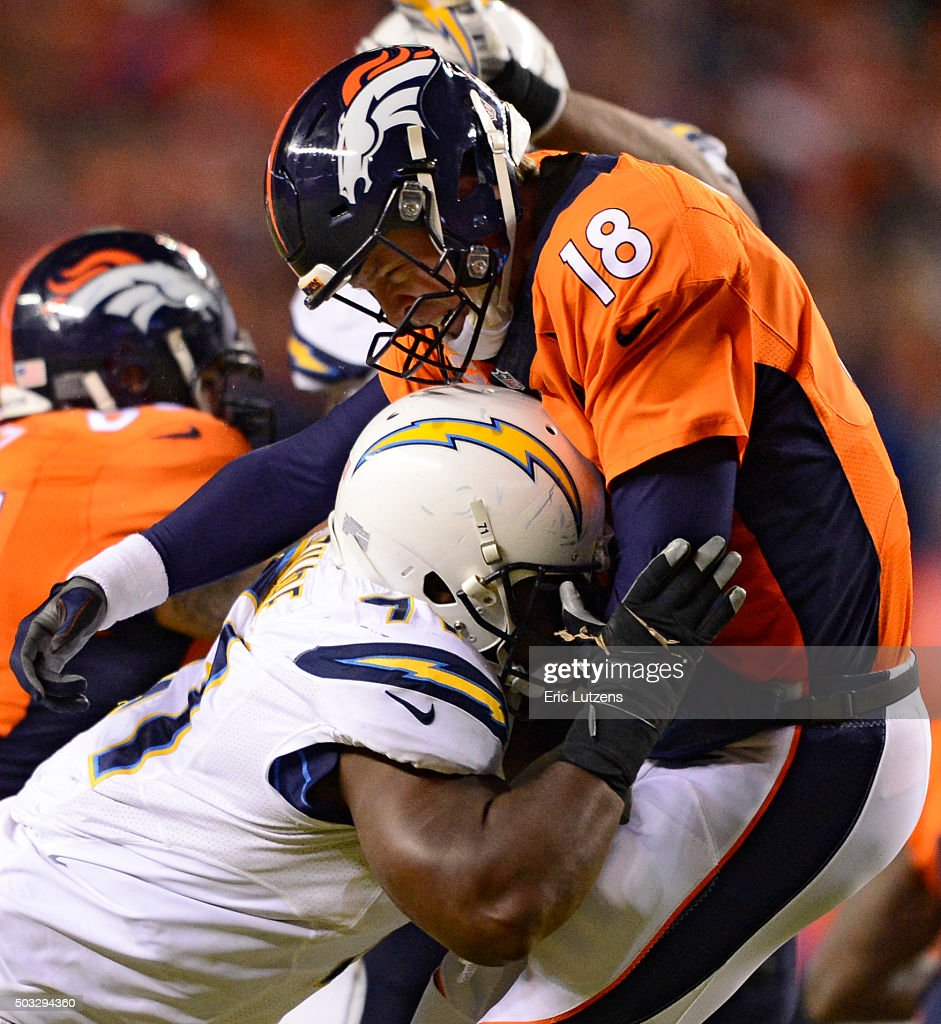 San Diego Chargers Defense: San Diego Chargers V Denver Broncos