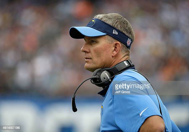 Mike Mccoy American Football Coach Stock Photos And