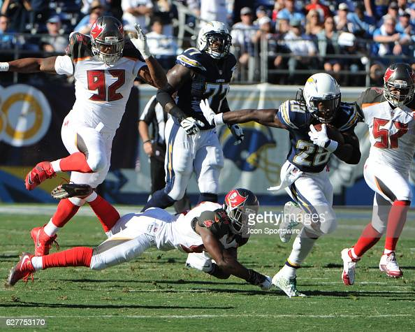 NFL: DEC 04 Buccaneers at Chargers : News Photo