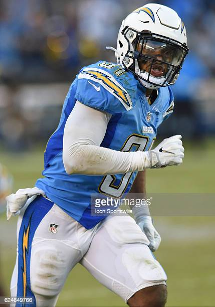Adrian Phillips American Football Safety Stock Photos And