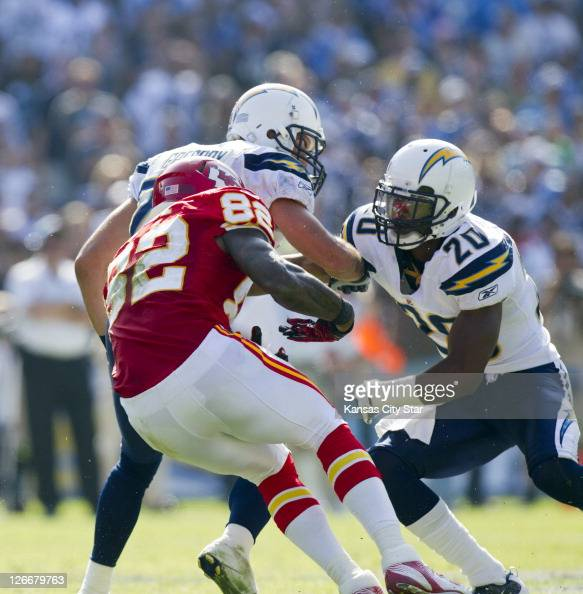 San Diego Chargers Cornerbacks: Steve Gregory American Football Player Stock Photos And