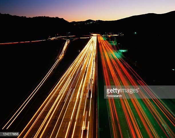 San Diego Freeway also known as the 405