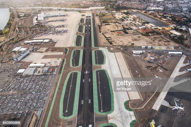 San Diego International Airport Aerial