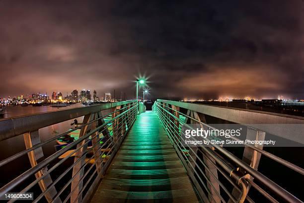 San Diego night view