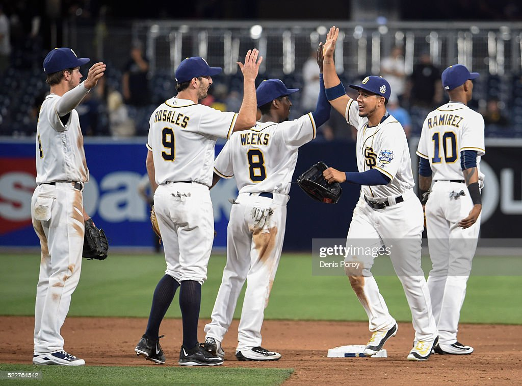san-diego-padres-players-highfive-after-