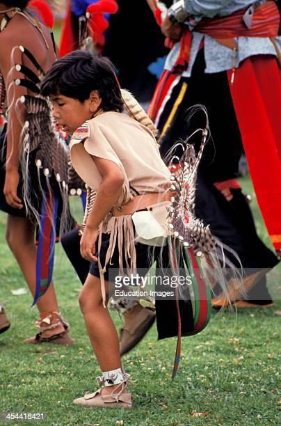San Diego Pow Wow Boy Dancer