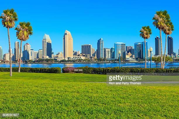 サンディエゴの街並み、カリフォルニア州