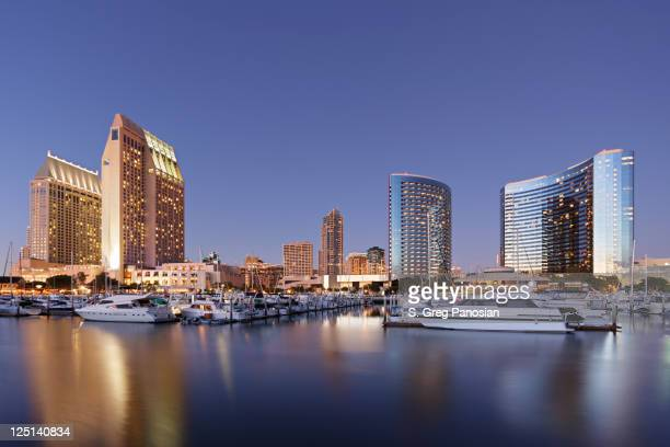 San Diego Skyscrapers and Marina